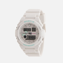 Женские наручные часы CASIO Baby-G BAX-100-7AER White/Mint фото- 1
