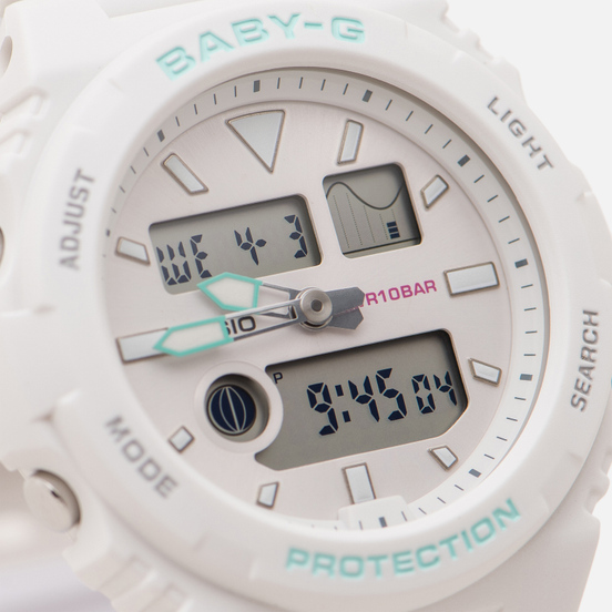 Наручные часы CASIO Baby-G BAX-100-7AER White/Mint