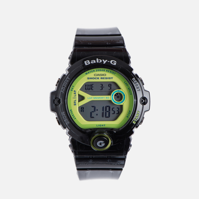 Женские наручные часы CASIO Baby-G BG-6903-1B Black/Green