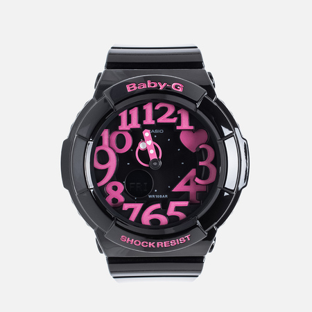 Casio Baby-G BGA-130-1BER Women's Watch Black/Pink