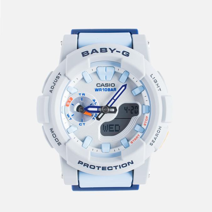Женские наручные часы CASIO Baby-G BGA-185-2A Blue/Grey