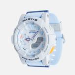 Женские наручные часы CASIO Baby-G BGA-185-2A Blue/Grey фото- 1