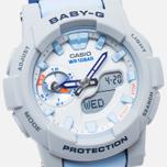 Женские наручные часы CASIO Baby-G BGA-185-2A Blue/Grey фото- 2