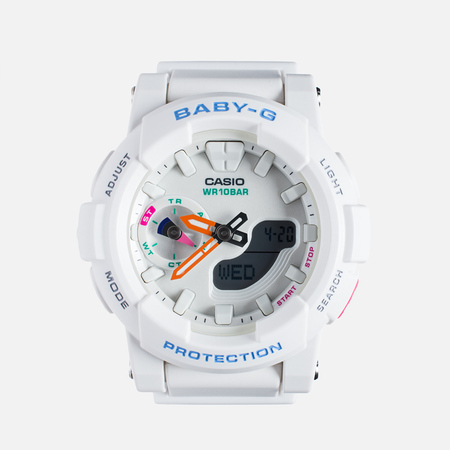 Casio Baby-G BGA-185-7A Women's Watch White