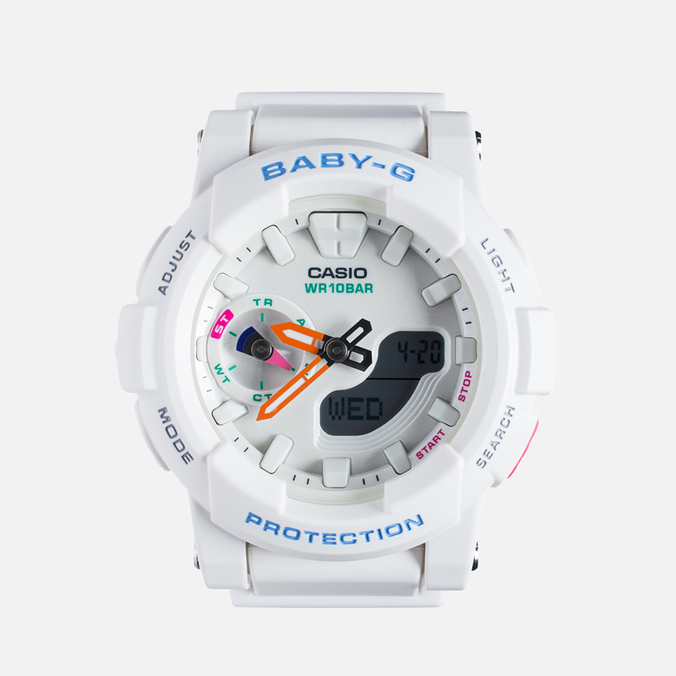 Женские наручные часы Casio Baby-G BGA-185-7A White