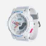 Женские наручные часы Casio Baby-G BGA-185-7A White фото- 1