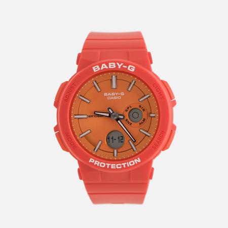 Женские наручные часы CASIO Baby-G BGA-255-4AER Red/Orange