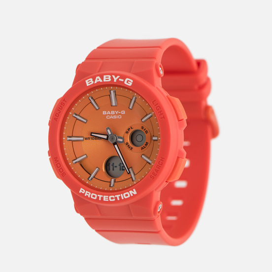 Наручные часы CASIO Baby-G BGA-255-4AER Red/Orange