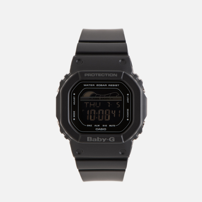 Женские наручные часы CASIO Baby-G BLX-560-1E G-Lide Series Black