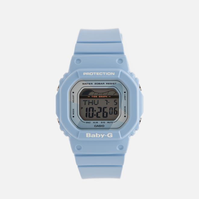 Женские наручные часы CASIO Baby-G BLX-560-2E G-Lide Series Pastel Blue