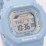 Женские наручные часы CASIO Baby-G BLX-560-2E G-Lide Series Pastel Blue фото- 2