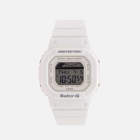 Женские наручные часы CASIO Baby-G BLX-560-7E G-Lide Series White
