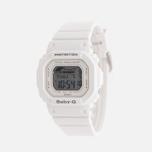 Женские наручные часы CASIO Baby-G BLX-560-7E G-Lide Series White фото- 1