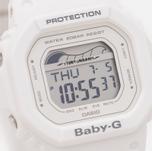 Женские наручные часы CASIO Baby-G BLX-560-7E G-Lide Series White фото- 2