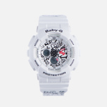 Женские наручные часы CASIO Baby-G x Hello Kitty BA-120KT-7A White фото- 0
