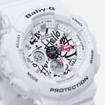 Женские наручные часы CASIO Baby-G x Hello Kitty BA-120KT-7A White фото- 2