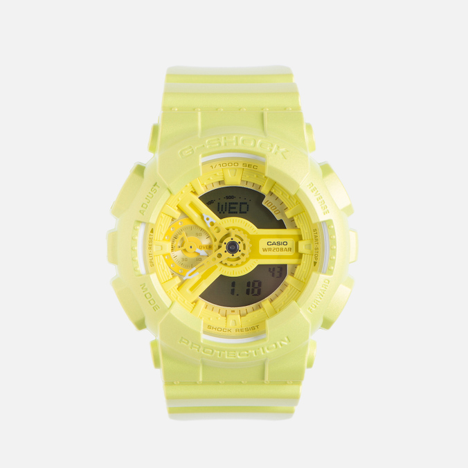 Женские наручные часы CASIO G-SHOCK GMA-S110VC-9A Fluorescent Yellow