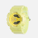 Женские наручные часы CASIO G-SHOCK GMA-S110VC-9A Fluorescent Yellow фото- 1