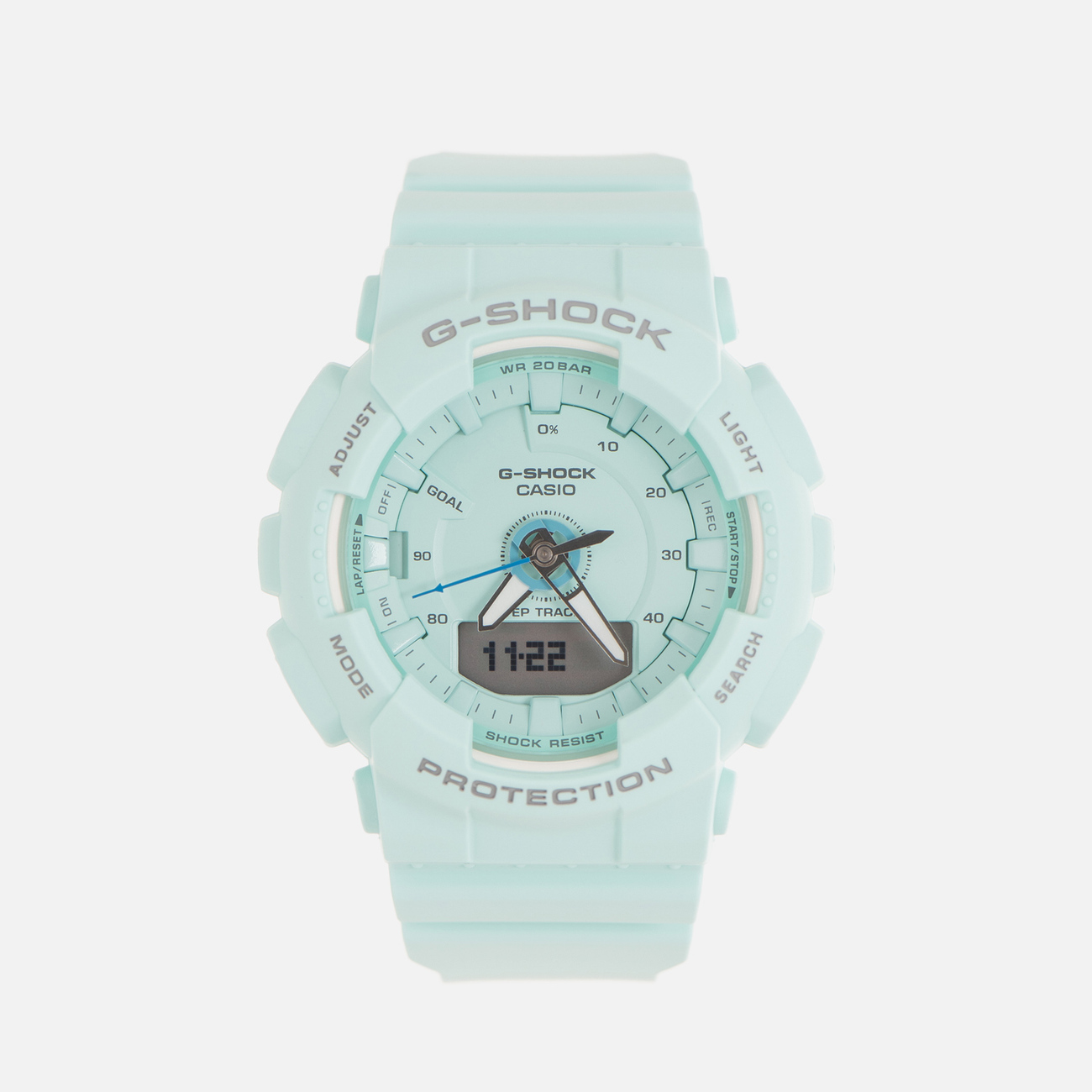 Женские наручные часы CASIO G-SHOCK GMA-S130-2A Series S Turquoise