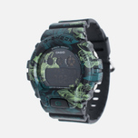 Женские наручные часы Casio G-SHOCK GMD-S6900F-1E Floral Pattern Green фото- 1