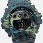 Женские наручные часы Casio G-SHOCK GMD-S6900F-1E Floral Pattern Green фото- 2