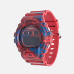 Женские наручные часы CASIO G-SHOCK GMD-S6900F-4E Floral Pattern Red фото- 2