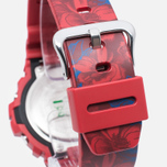 Женские наручные часы CASIO G-SHOCK GMD-S6900F-4E Floral Pattern Red фото- 3