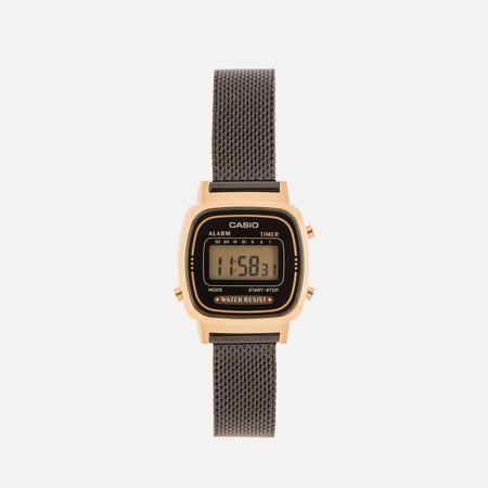 Женские наручные часы CASIO LA670WEMB-1E Gold/Black