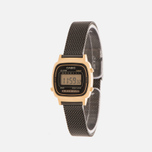 Женские наручные часы CASIO LA670WEMB-1E Gold/Black фото- 1