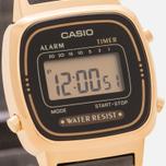 Женские наручные часы CASIO LA670WEMB-1E Gold/Black фото- 2
