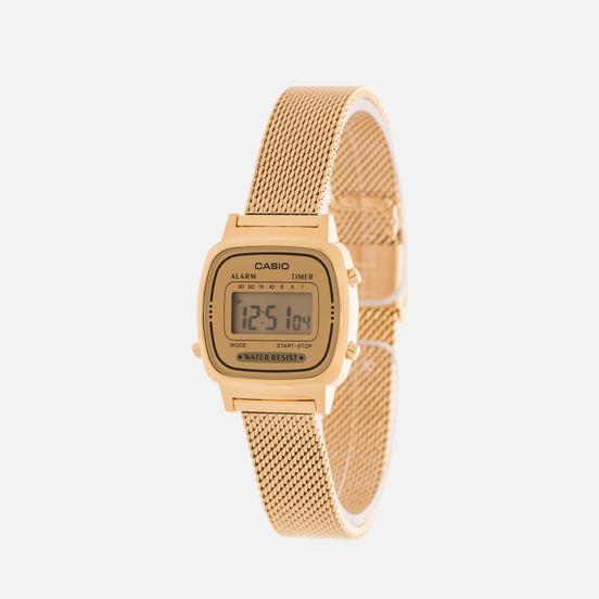 Наручные часы CASIO LA670WEMY-9E Gold/Yellow