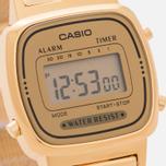 Женские наручные часы CASIO LA670WEMY-9E Gold/Yellow фото- 2