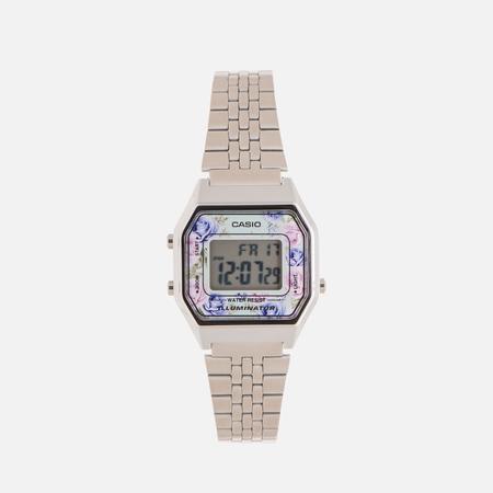 Женские наручные часы CASIO LA680WEA-2C Silver/Multicolor