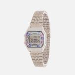 Женские наручные часы CASIO LA680WEA-2C Silver/Multicolor фото- 1