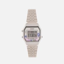 Женские наручные часы CASIO LA680WEA-4C Silver/Multicolor фото- 0