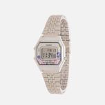 Женские наручные часы CASIO LA680WEA-4C Silver/Multicolor фото- 1