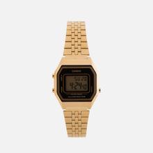 Женские наручные часы CASIO LA680WEGA-1E Gold/Black фото- 0
