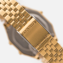 Женские наручные часы CASIO LA680WEGA-1E Gold/Black фото- 3