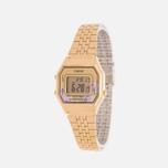 Женские наручные часы CASIO LA680WEGA-4C Gold/Multicolor фото- 1