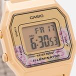 Женские наручные часы CASIO LA680WEGA-4C Gold/Multicolor фото- 2