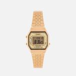 Женские наручные часы CASIO LA680WEGA-9C Gold/Multicolor фото- 0