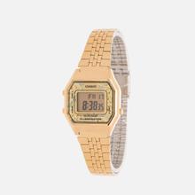 Женские наручные часы CASIO LA680WEGA-9C Gold/Multicolor фото- 1