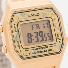 Женские наручные часы CASIO LA680WEGA-9C Gold/Multicolor фото- 2
