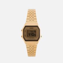 Женские наручные часы CASIO LA680WEGA-9E Gold/Gold фото- 0