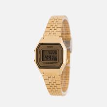 Женские наручные часы CASIO LA680WEGA-9E Gold/Gold фото- 1