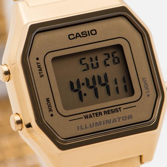 Наручные часы CASIO LA680WEGA-9E Gold/Gold