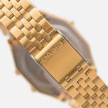 Женские наручные часы CASIO LA680WEGA-9E Gold/Gold фото- 3