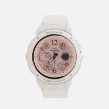 Женские наручные часы CASIO x Hello Kitty Baby-G BGA-150KT-7BER White фото- 0