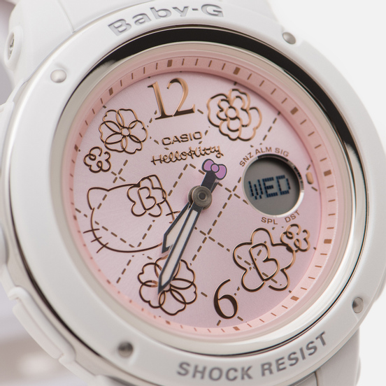 Наручные часы CASIO x Hello Kitty Baby-G BGA-150KT-7BER White