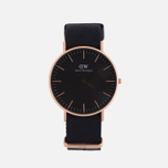 Женские наручные часы Daniel Wellington Classic Black Cornwall Rose Gold фото- 0